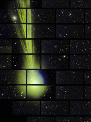 The 570-megapixel Dark Energy Camera in Chile captured this photo of Comet Lovejoy on Dec. 27, 2014.