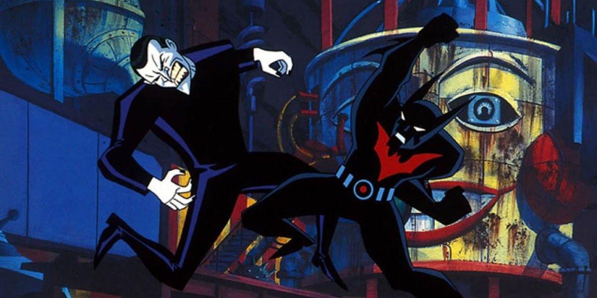 Mark Hamill and Will Friedle in Batman Beyond: Return of the Joker