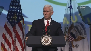 VP Pence Speech Met by Protests at IAC 2019 Space Conference