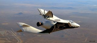 Full Size Virgin Galactic SpaceShipTwo