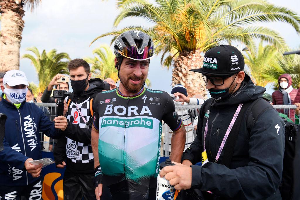 Foto POOL Fabio Ferrari/LaPresse/RCS 13 ottobre 2020 Italia Sport Ciclismo Giro d'Italia 2020 - edizione 103 - Tappa 10 - Da Lanciano a Tortoreto (km 177)
