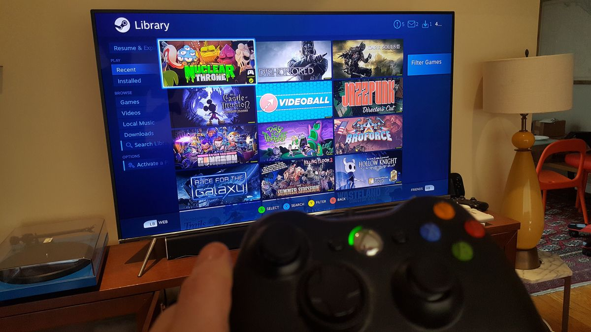 Samsung Tvs Have A New Steam Link Streaming App That Works