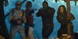 Polka-Dot Man, Peacemaker, Bloodsport and Ratcatcher 2 in The Suicide Squad