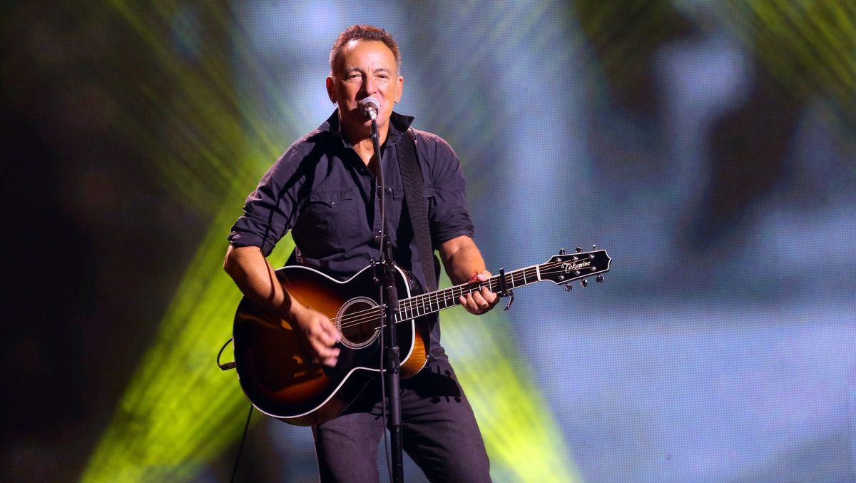 Bruce Springsteen wrote his entire new album on an acoustic guitar gifted to him by a fan