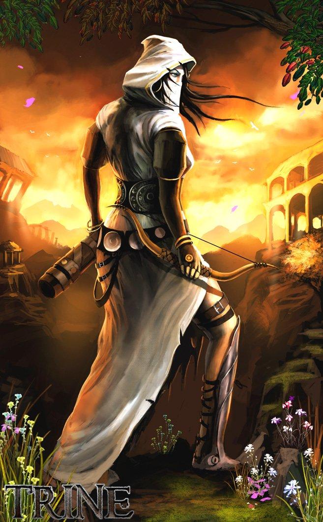 New Trine Art Introduces Zoya The Thief #7796