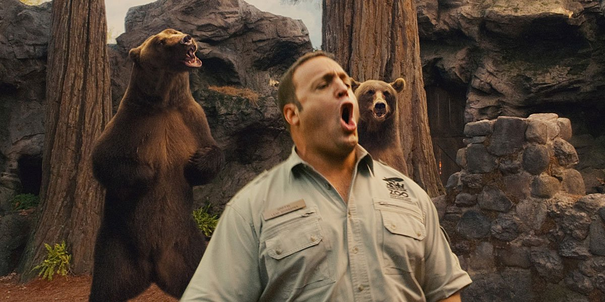 Kevin James in Zookeeper 2011, now on Netflix