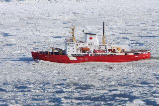 amundsen study arctic climate