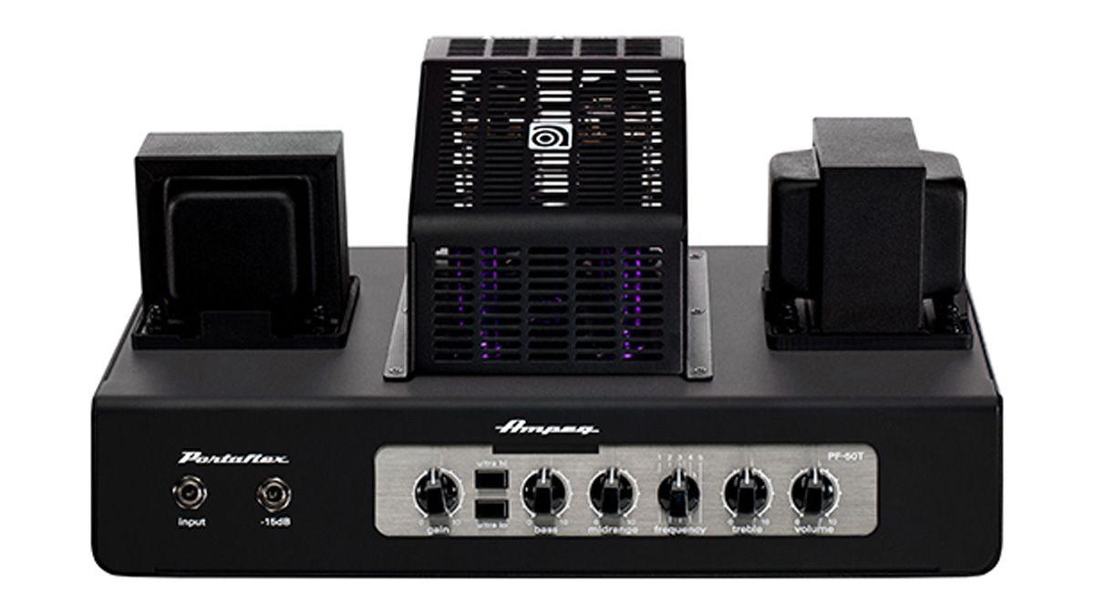 ampeg portaflex pf 20t pf 50t heads pf 112hlf cab review musicradar. Black Bedroom Furniture Sets. Home Design Ideas