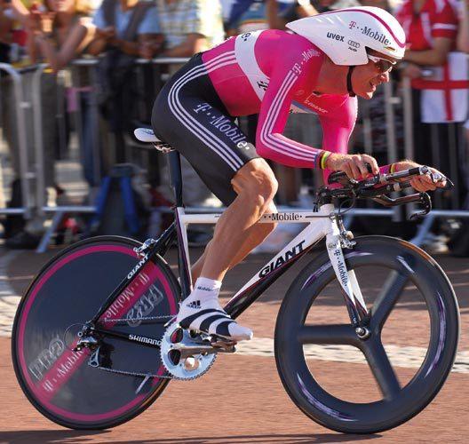 Pro Bike Michael Rogers Giant Tt Prototype Cycling Weekly
