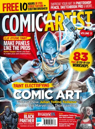 supercharge your comic art skills with this special issue of