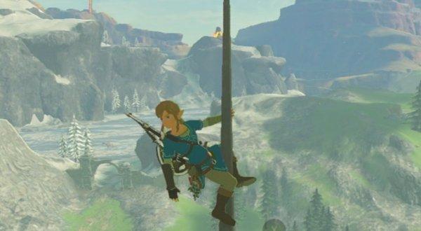 Legend of Zelda Breath of the Wild Climbing