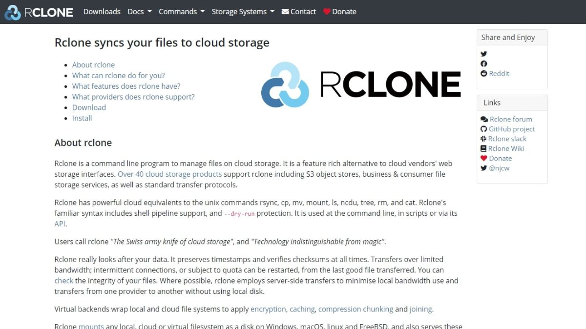 Rclone: What is it, and should you use this service?
