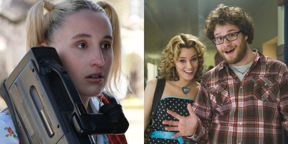 Harley Quinn Smith in Cruel Summer and Zack and Miri Make A Porno