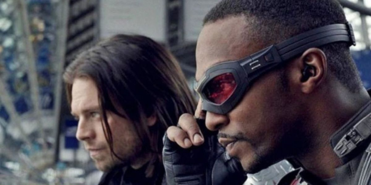 Falcon and the Winter Soldier in Captain America: Civil War