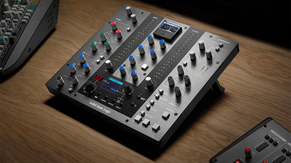 """Get the feel of a """"full-blown"""" SSL console with the UC1 channel strip and bus compressor plugin controller"""