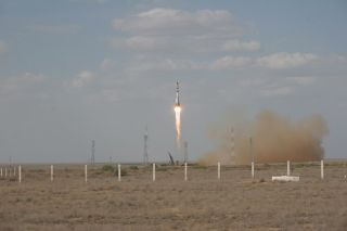 Lost Experiments Fly Again in Successful Soyuz Launch