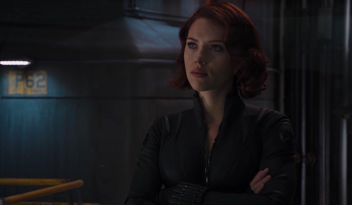 Black Widow in The Avengers 2012