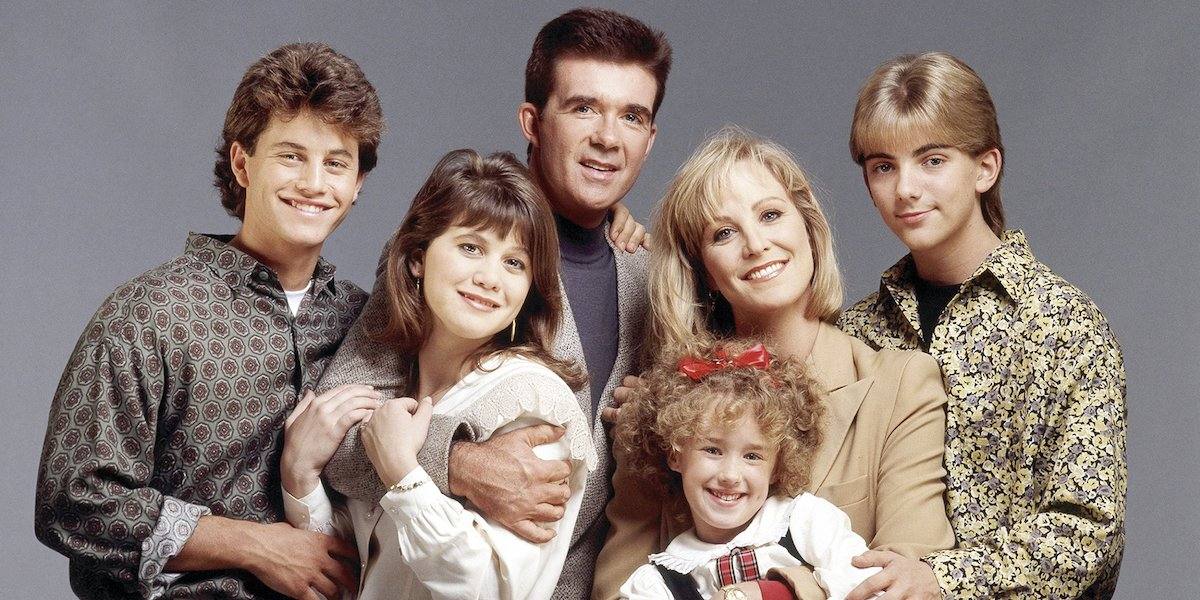 Growing Pains Alan Thicke Joanna Kerns Kirk Cameron seaver family cast abc