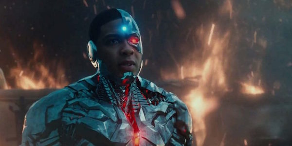 Cyborg in the Justice League trailer