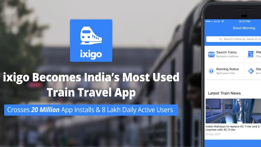 ixigo trains app crosses 20 million downloads | TechRadar