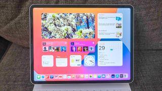 iPadOS 15 on an iPad Pro