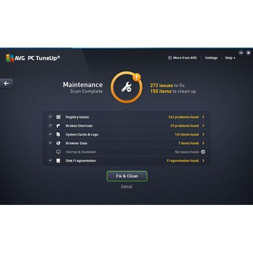 AVG PC TuneUp Review - Pros, Cons and Verdict | Top Ten Reviews