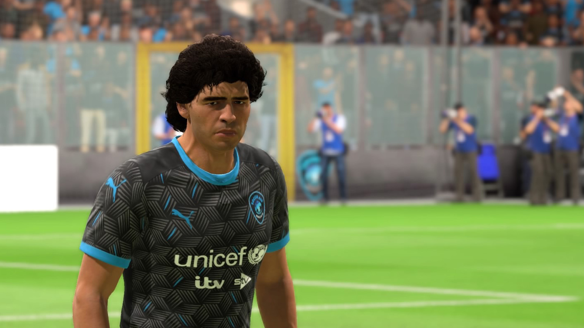 Soccer Aid World Xi Playable On Fifa 20 Featuring Maradona Pele Ronaldinho Giggs And More Fourfourtwo
