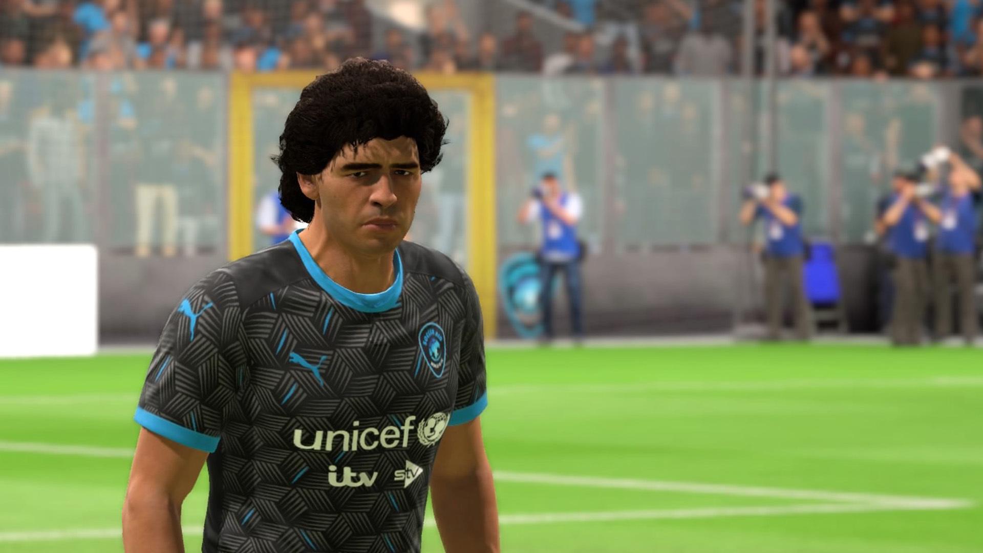 Soccer Aid World Xi Playable On Fifa 20 Featuring Maradona Pele Ronaldinho Giggs And More Fourfourtwo