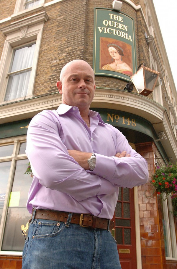Grant Mitchell in Albert Square
