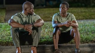 Kwame Patterson (L) and Akili McDowell in 'David Makes Man'