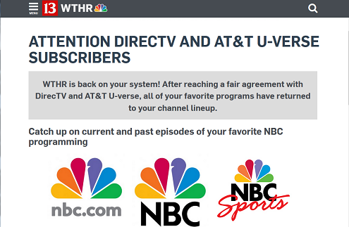 Dispatch Stations Back On Directv U Verse Broadcasting Cable