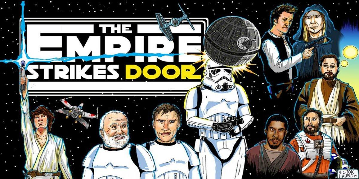The Empire Strikes Door art