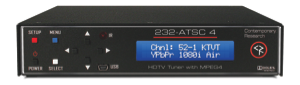Contemporary Research's New HDTV Tuner