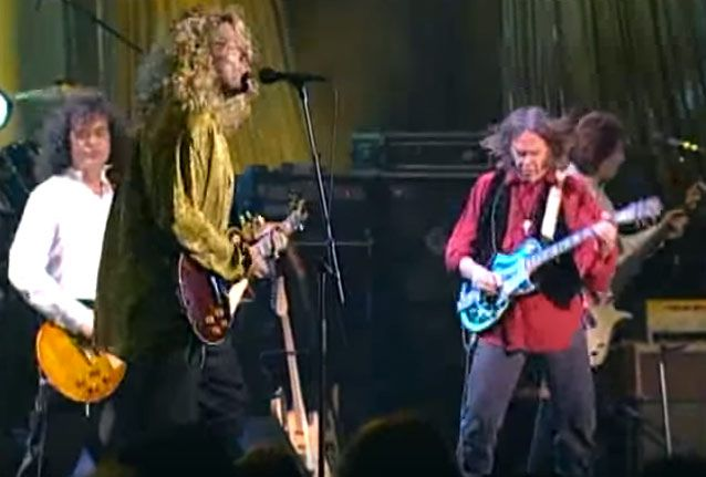 Watch Led Zeppelin and Neil Young Play 'When the Levee Breaks'