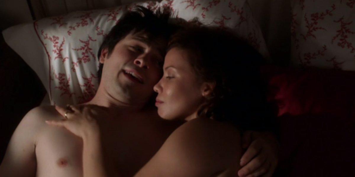 Fredd Rodriguez and Justina Machado on Six Feet Under