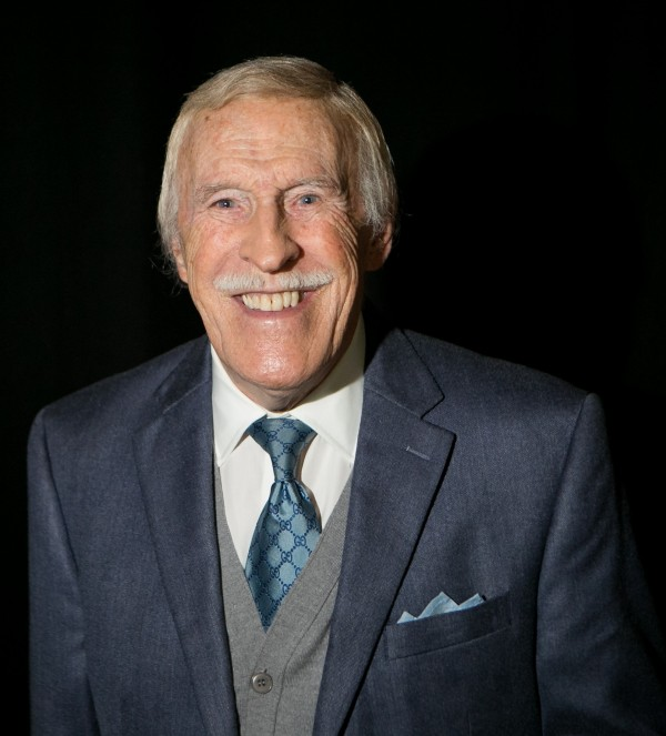 Sir Bruce Forsyth who slipped and fell at his home recently.