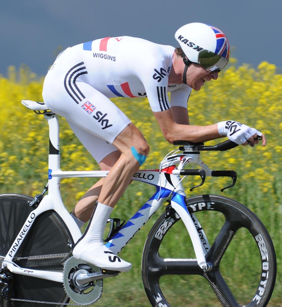 Bradley Wiggins, Tour de Romandie 2011, stage four ITT