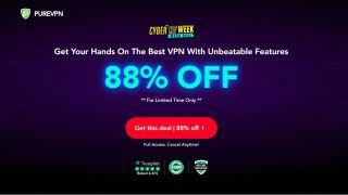 PureVPN Cyber Week VPN deal
