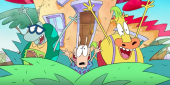 Watch Rocko And Heffer Discover The 21st Century In Rocko's Modern Life Revival Video