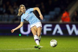Manchester City Women v Atletico Madrid Women – UEFA Women's Champions League – Round of 16 – First Leg – The Academy Stadium