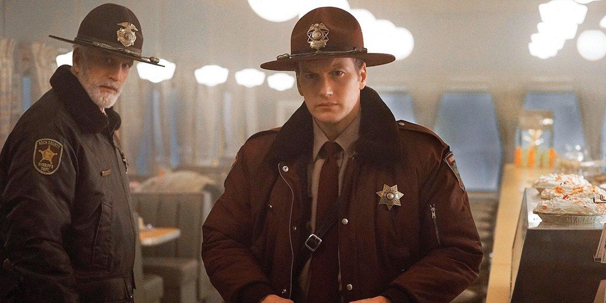 Ted Danson and Patrick Wilson in Fargo Season 2