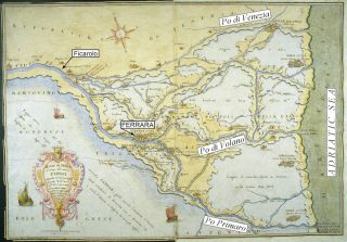 Po River Map
