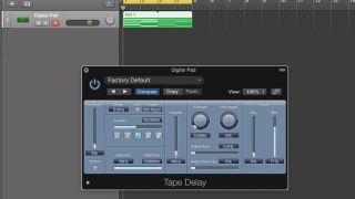 How to use Logic's Tape Delay as an instant retroiser