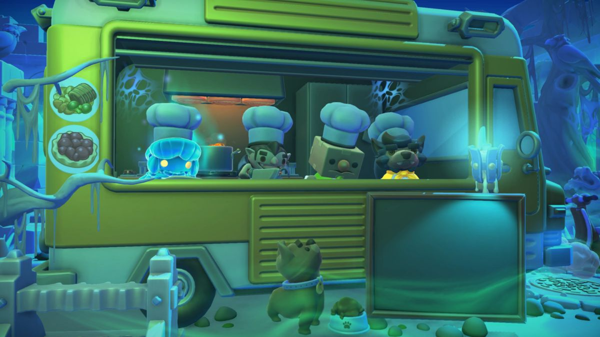 Overcooked 2: Night of the Hangry Horde makes you feed the undead