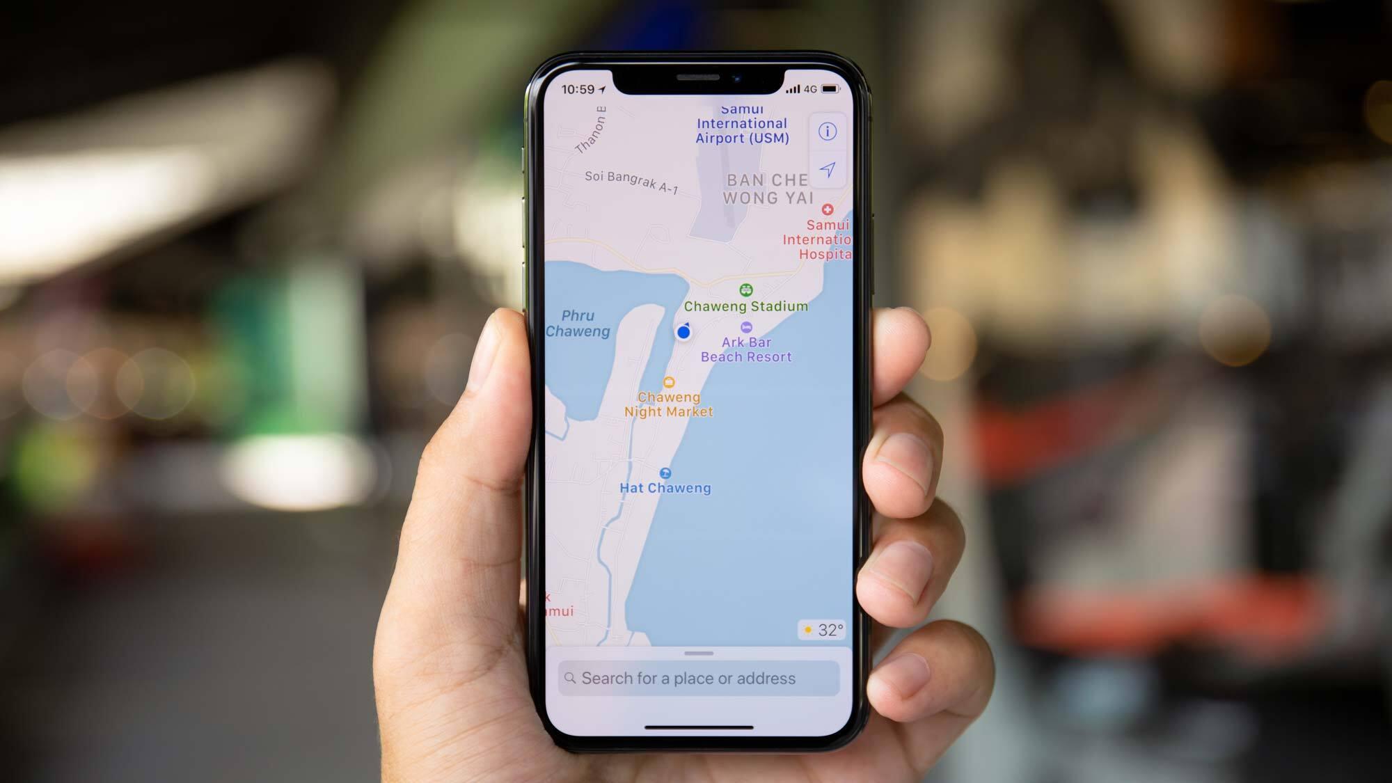iphone apple maps