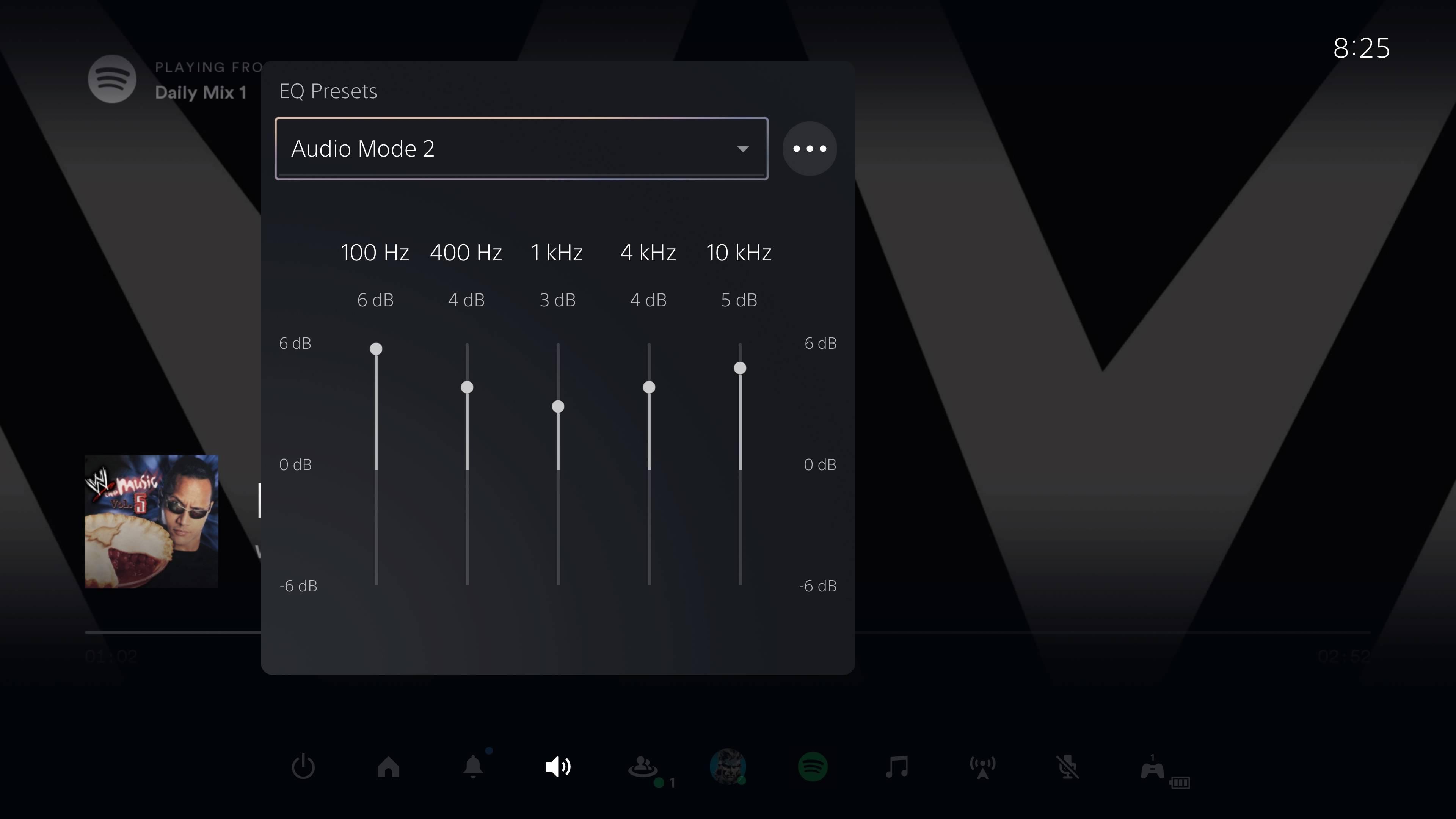 PS5 3D Pulse Wireless Headset custom audio preset