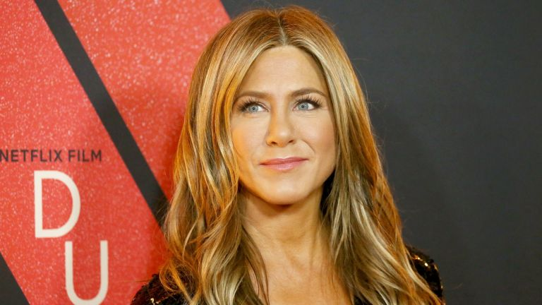"""Jennifer Aniston attends the Los Angeles premiere of Netflix's """"Dumplin'"""" held at TCL Chinese Theatre on December 06, 2018 in Hollywood, California."""