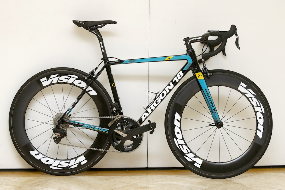 Astana reveal their Argon 18 bikes for 2017 - Cycling Weekly 04c3991c7
