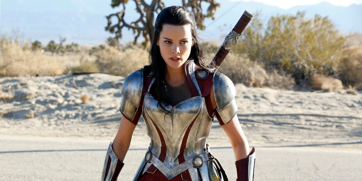 Jaimie Alexander as Lady Sif in the MCU