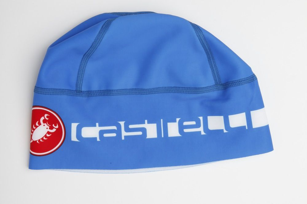 RED Castelli PRO THERMAL SKULLY Warm Winter Cycling Skullcap